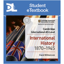 Hodder Access to History for Cambridge International AS Level: International History 1870-1945 Student Etextbook - ISBN 9781510448902