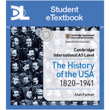 Hodder Access to History for Cambridge Assessment International Education: The History of the USA 1820-1941 Student Etextbook - ISBN 9781510448872