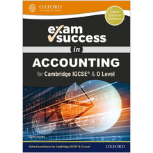 Oxford Exam Success in Accounting for Cambridge IGCSE® & O Level - ISBN 9780198444756