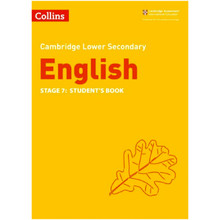 Collins Cambridge Lower Secondary English Student's Book Stage 7 - ISBN 9780008340834