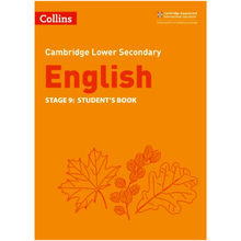 Collins Cambridge Lower Secondary English Student's Book Stage 9 - ISBN 9780008364083
