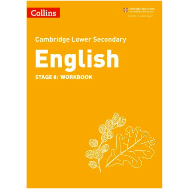 Collins Cambridge Lower Secondary English Workbook Stage 8 - ISBN 9780008364182