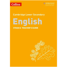 Collins Cambridge Lower Secondary English Teacher's Guide Stage 8 - ISBN 9780008364113