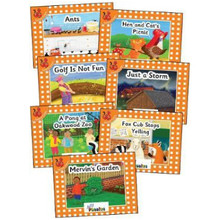 Jolly Phonics Readers Complete Set Orange (pack of 21) - ISBN 9781844145812