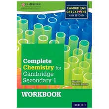 Complete Chemistry for Cambridge Secondary 1 Workbook - ISBN 9780198390190