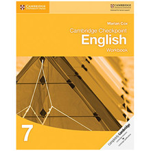Cambridge Checkpoint English Workbook Book 7 - ISBN 9781107647817