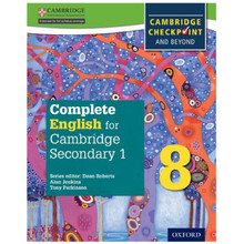 Complete English for Cambridge Secondary 1 Stage 8 Student Book - ISBN 9780198364665