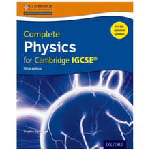 Complete Physics for Cambridge IGCSE Student Book Third Edition - ISBN 9780198399179