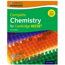 Complete Chemistry for Cambridge IGCSE Student Book 3rd Edition - ISBN 9780198399148