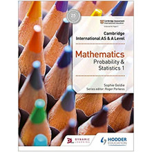 Hodder Cambridge International AS & A Level Mathematics Probability & Statistics 1 - ISBN 9781510421752