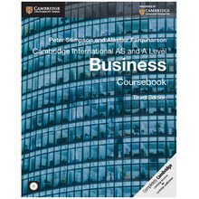 Cambridge International AS and A Level Business Coursebook with CD-ROM (3rd Edition) - ISBN 9781107677364