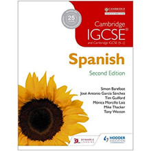 Cambridge IGCSE® Spanish Student Book 2nd Edition - ISBN 9781471888830
