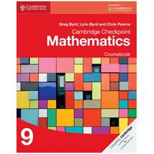 Cambridge Checkpoint Mathematics Coursebook 9 - ISBN 9781107668010