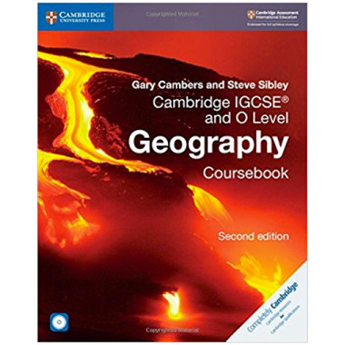 Cambridge IGCSE and O Level Geography Coursebook with CD-ROM - ISBN 9781108339186