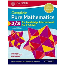 Complete Pure Mathematics 2 & 3 for Cambridge International AS and A Level Student Book 2nd Edition - ISBN 9780198425137
