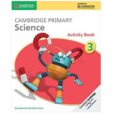 Cambridge Primary Science Activity Book 3 - ISBN 9781107611450