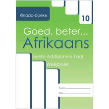 Goed, Beter Afrikaans G10 EAT Werkboek - ISBN 9780994685858