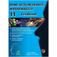 Mind Action Series Mathematics Grade 11 Textbook - ISBN 9781776115228