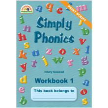 Simply Phonics Workbook 1 - ISBN 9781920008437