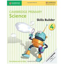 Cambridge Primary Science Skills Builder Activity Book 4 - ISBN 9781316611043