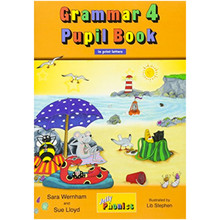 Jolly Phonics Grammar 4 Pupil Book: In Print Letters (British English edition) - ISBN 9781844144761