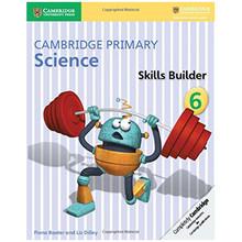 Cambridge Primary Science Skills Builder Activity Book 6 - ISBN 9781316611098