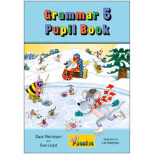 Jolly Phonics Grammar 5 Pupil Book: In Print Letters - ISBN 9781844144839