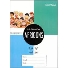 Afrigons Werkboek 5 Deel 1 - ISBN 9780992221416