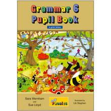Jolly Phonics Grammar 6 Pupil Book: In Print Letters (British English edition) - ISBN 9781844145157