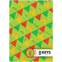 Keys: Unlocking Maths Grade 8 (2 Book Set) - ISBN 9780639908571