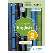 Cambridge Checkpoint English Workbook 2 - ISBN 9781444184426