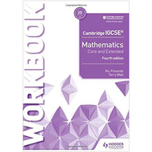 Cambridge IGCSE Mathematics Core and Extended Workbook - ISBN 9781510421707