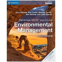 Cambridge IGCSE and O Level Environmental Management Coursebook - ISBN 9781316634851