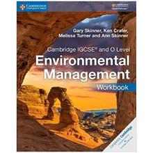 Cambridge IGCSE and O Level Environmental Management Workbook - ISBN 9781316634875