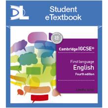 Hodder Cambridge IGCSE First Language English 4th edition Student Etextbook - ISBN 9781510420281