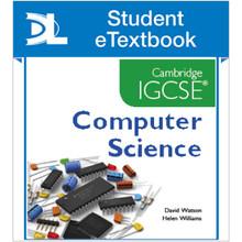 Hodder Cambridge IGCSE Computer Science Student eTextbook - ISBN 9781471809347