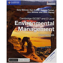 Cambridge  IGCSE and O Level Environmental Management Coursebook with Elevate Enhanced (2 Years) - ISBN 9781316646021