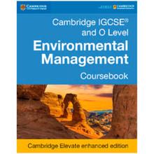 Cambridge IGCSE and O Level Environmental Management Cambridge Elevate Enhanced Edition (2 Years) - ISBN 9781316634912