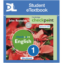 Cambridge Checkpoint English Workbook 1 Student eTextbook - ISBN 9781398314948