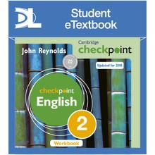 Cambridge Checkpoint English Workbook 2 Student eTextbook - ISBN 9781398315020