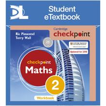 Hodder Cambridge Checkpoint Maths Workbook 2 Student e-Textbook - ISBN 9781398315440