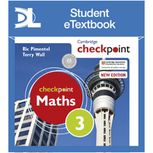 Hodder Cambridge Checkpoint Maths Student's Book 3 Student e-Textbook - ISBN 9781398315617