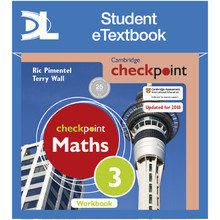 Hodder Cambridge Checkpoint Maths Workbook 3 Student e-Textbook - ISBN 9781398315631