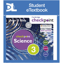 Hodder Cambridge Checkpoint Science Student's Book 3 Student e-Textbook - ISBN 9781398315662