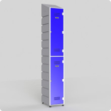 2 Tier Locker with slanted top