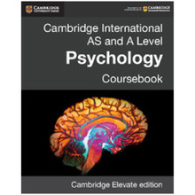 Cambridge International AS & A Level Psychology Cambridge Elevate Enhanced Edition (2 years) - ISBN 9781316605714