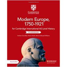 Cambridge International AS Level History: Modern Europe, 1750–1921 Coursebook - ISBN 9781108733922
