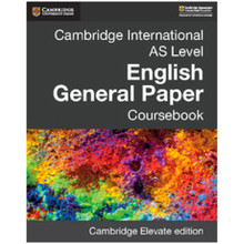 Cambridge International AS Level English General Paper Coursebook Elevate Edition (1 Year) - ISBN 9781108439688