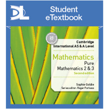 Hodder Cambridge International AS & A Level Mathematics Pure Mathematics 2 and 3 Student Etextbook - ISBN 9781510420854