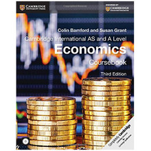 Cambridge international AS and A Level Economics Coursebook with CD-ROM (3rd Edition) - ISBN 9781107679511